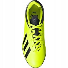 Buty piłkarskie adidas X Tango 18.4 Tf Jr DB2435 żółte żółte 1