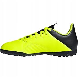 Buty piłkarskie adidas X Tango 18.4 Tf Jr DB2435 żółte żółte 2