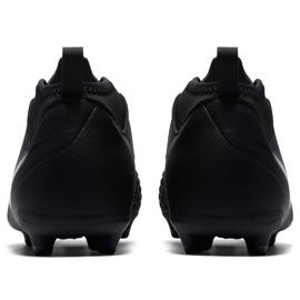 Buty piłkarskie Nike Phantom Vsn Club Df Fg Jr AO3288 001 czarne wielokolorowe 4