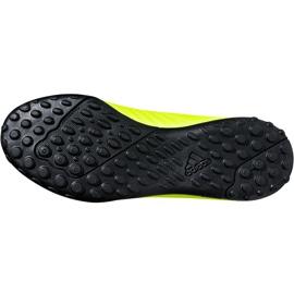 Buty piłkarskie adidas X Tango 18.4 Tf Jr DB2435 żółte żółte 3