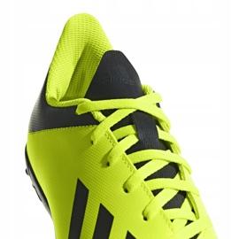 Buty piłkarskie adidas X Tango 18.4 Tf Jr DB2435 żółte żółte 4