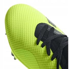 Buty piłkarskie adidas X 18.3 Fg DB2183 żółte żółte 4