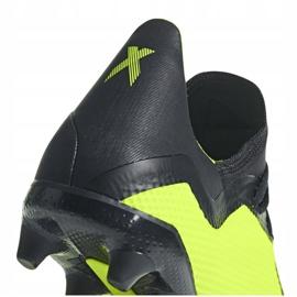 Buty piłkarskie adidas X 18.3 Fg DB2183 żółte żółte 5