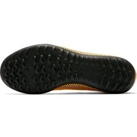 Buty piłkarskie Nike Mercurial Superfly X 6 Club Neymar Tf Jr AO2894 710 żółte wielokolorowe 5
