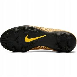 Buty piłkarskie Nike Mercurial Vapor 12 Club Neymar Gs Mg Jr AO9472 710 żółte wielokolorowe 5