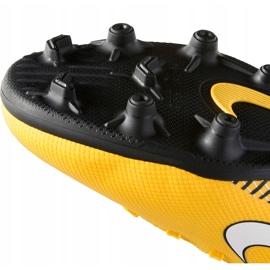 Buty piłkarskie Nike Mercurial Vapor 12 Club Neymar Gs Mg Jr AO9472 710 żółte wielokolorowe 6
