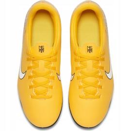 Buty piłkarskie Nike Mercurial Vapor 12 Club Neymar Gs Mg Jr AO9472 710 żółte wielokolorowe 1