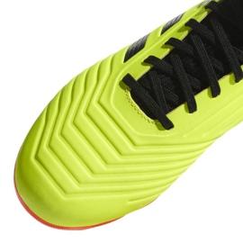 Buty piłkarskie adidas Predator 18.3 Fg Jr DB2319 żółte wielokolorowe 3