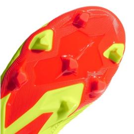 Buty piłkarskie adidas Predator 18.3 Fg Jr DB2319 żółte wielokolorowe 5