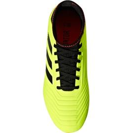 Buty piłkarskie adidas Predator 18.3 Fg Jr DB2319 żółte wielokolorowe 2