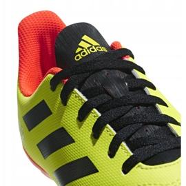 Buty piłkarskie adidas Predator 18.4 FxG Jr DB2321 zielone wielokolorowe 4
