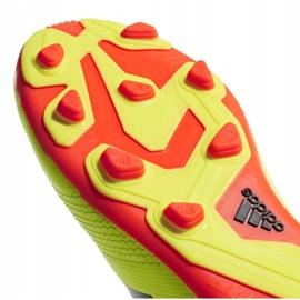 Buty piłkarskie adidas Predator 18.4 FxG Jr DB2321 zielone wielokolorowe 5