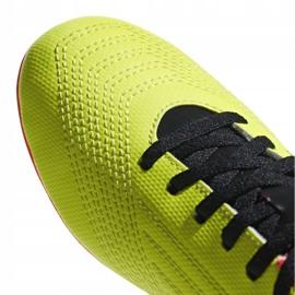 Buty piłkarskie adidas Predator 18.4 FxG Jr DB2321 zielone wielokolorowe 3