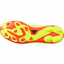 Buty piłkarskie adidas Predator 18.4 FxG Jr DB2321 zielone wielokolorowe 1
