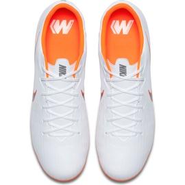 Buty piłkarskie Nike Mercurial Vapor 12 Academy Mg AH7375 107 białe wielokolorowe 1