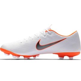Buty piłkarskie Nike Mercurial Vapor 12 Academy Mg AH7375 107 białe wielokolorowe 2