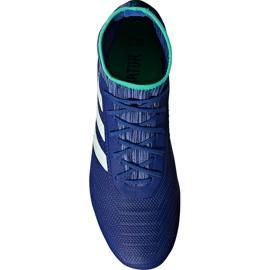 Buty piłkarskie adidas Predator 18.2 Fg CP9293 niebieskie wielokolorowe 2