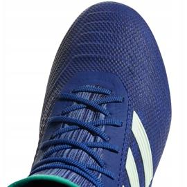 Buty piłkarskie adidas Predator 18.2 Fg CP9293 niebieskie wielokolorowe 3