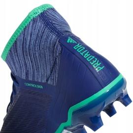 Buty piłkarskie adidas Predator 18.2 Fg CP9293 niebieskie wielokolorowe 4