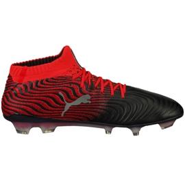 Buty piłkarskie Puma One 18.1 Syn Fg 104869 01 czarne wielokolorowe 1