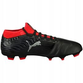 Buty piłkarskie Puma One 18.3 Fg 104538 01 czarne wielokolorowe 1