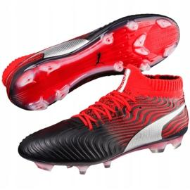 Buty piłkarskie Puma One 18.1 Syn Fg 104869 01 czarne wielokolorowe 2