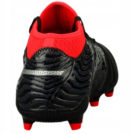 Buty piłkarskie Puma One 18.3 Fg 104538 01 czarne wielokolorowe 4