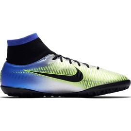 Buty piłkarskie Nike Mercurial X Victory 6 Df Neymar Tf 921514 407 niebieskie zielony, niebieski, szary/srebrny 2