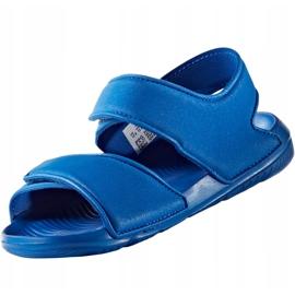 Sandały dla dzieci adidas Alta Swim C BA9289 niebieskie 2