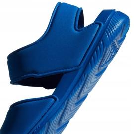 Sandały dla dzieci adidas Alta Swim C BA9289 niebieskie 6