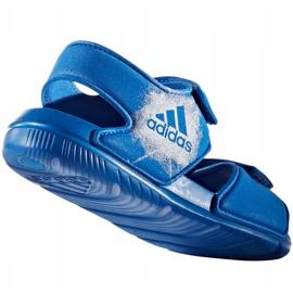 Sandały dla dzieci adidas Alta Swim C BA9289 niebieskie 3