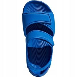 Sandały dla dzieci adidas Alta Swim C BA9289 niebieskie 1