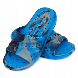 Klapki dla dzieci Aqua-Speed Patmos 01 niebieskie 1