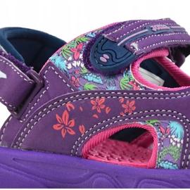 Sandały dla dziewczynki Joma Ocean 719 fioletowe 3