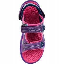 Sandały dla dziewczynki Joma Ocean 719 fioletowe 1