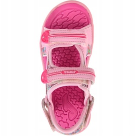 Sandały dla dziewczynki Joma Ocean 713 różowe 1