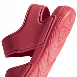 Sandały adidas Alta Swim C BA7849 różowe 4
