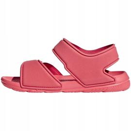 Sandały adidas Alta Swim C BA7849 różowe 1