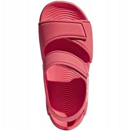 Sandały adidas Alta Swim C BA7849 różowe 2