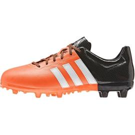 Buty piłkarskie adidas Ace 15.3 Fg Ag Jr B32809 pomarańczowe 1