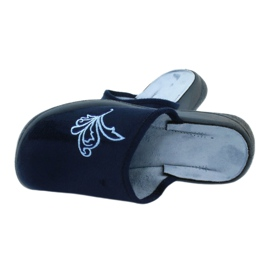 Befado obuwie damskie pu 019D095 granatowe niebieskie 4