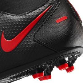 Buty piłkarskie Nike Phantom Gt Club Df FG/MG CW6672 060 czarne czarne 6