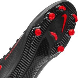 Buty piłkarskie Nike Phantom Gt Club Df FG/MG CW6672 060 czarne czarne 7