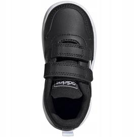 Buty dla dzieci adidas Tensaur I czarne EF1102 1