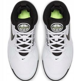 Buty dla dzieci Nike team Hustle D 9 Gs białe AQ4224 100 1