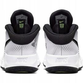 Buty dla dzieci Nike team Hustle D 9 Gs białe AQ4224 100 4