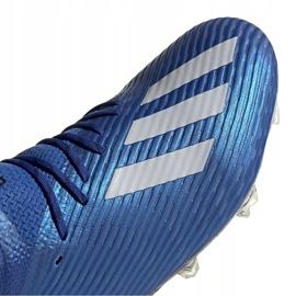 Buty piłkarskie adidas X 19.1 Fg niebieskie EG7126 3