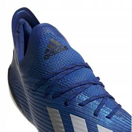 Buty piłkarskie adidas X 19.1 Fg niebieskie EG7126 1
