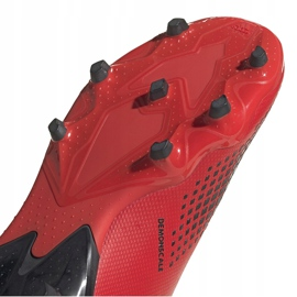Buty piłkarskie adidas Predator 20.3 Ll Fg Jr EF1907 czerwony,czarny czerwone 5