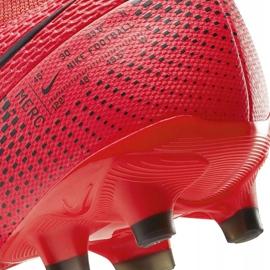 Buty piłkarskie Nike Mercurial Superfly 7 Academy FG/MG AT7946 606 czerwone granatowe 6